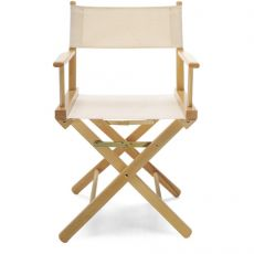REGISTA - Wooden director chair available in several colours