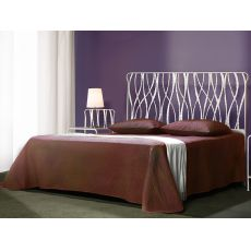 Overture - Double bed in wrought-iron, several colours available