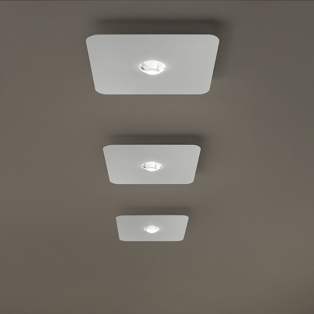 Ceiling lamp, small version (S), white colour