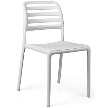 Costa Bistrot - Polypropylene chair in white colour