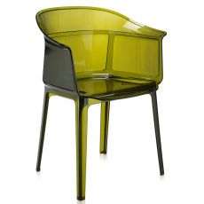 Papyrus - Kartell design armchair, in polycarbonate, stackable, also for garden