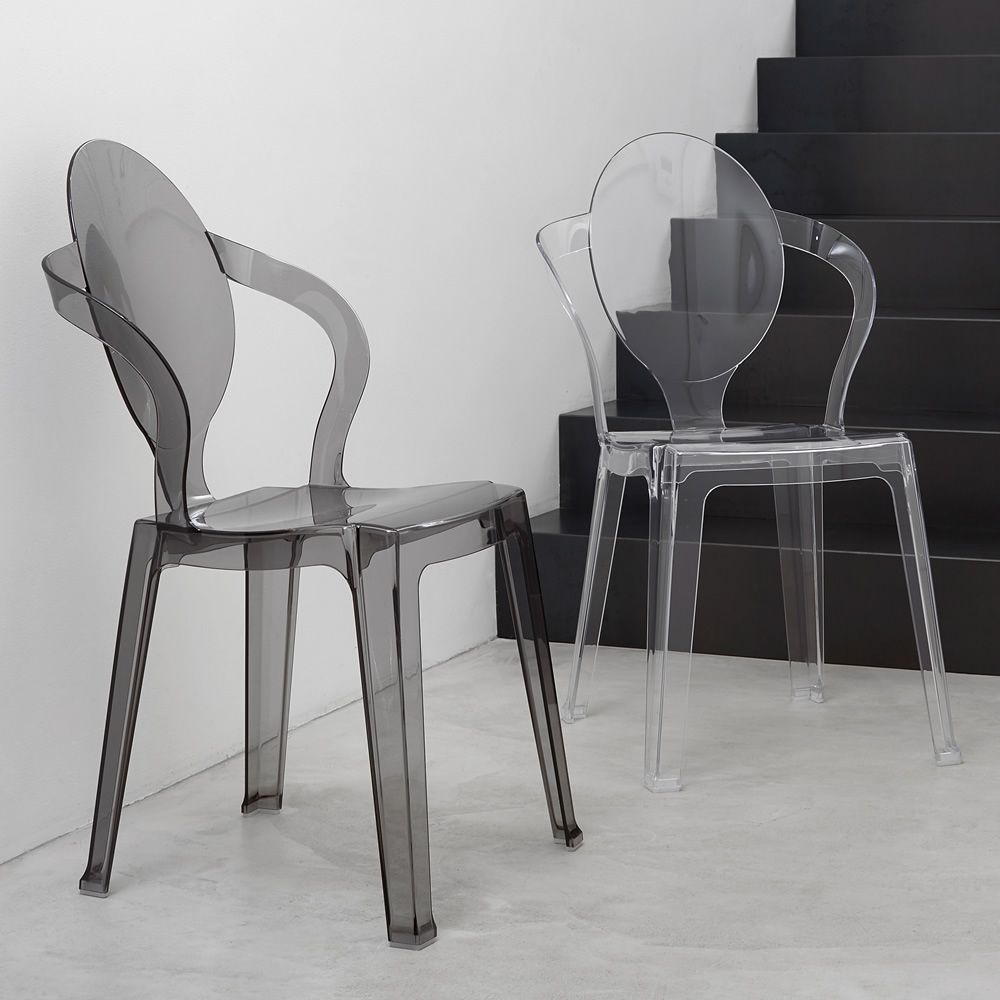 Design chair in polycarbonate