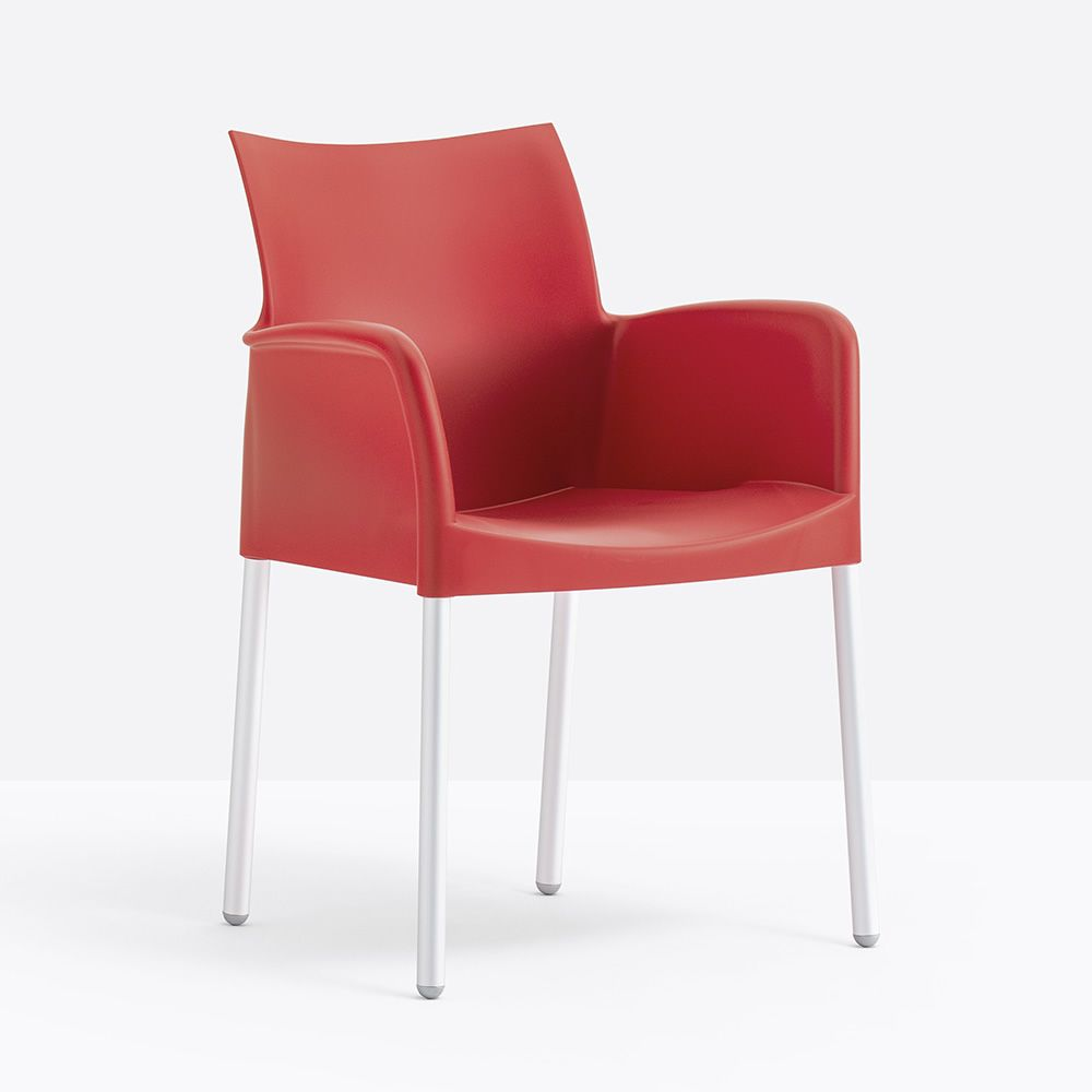 Armchair, red colour