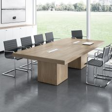 T-Desk Meet - Mesa de juntas en laminado, disponible en distintos tamaños