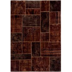 Antalya Brown - Modern brown carpet made of pure virgin wool hand-knotted