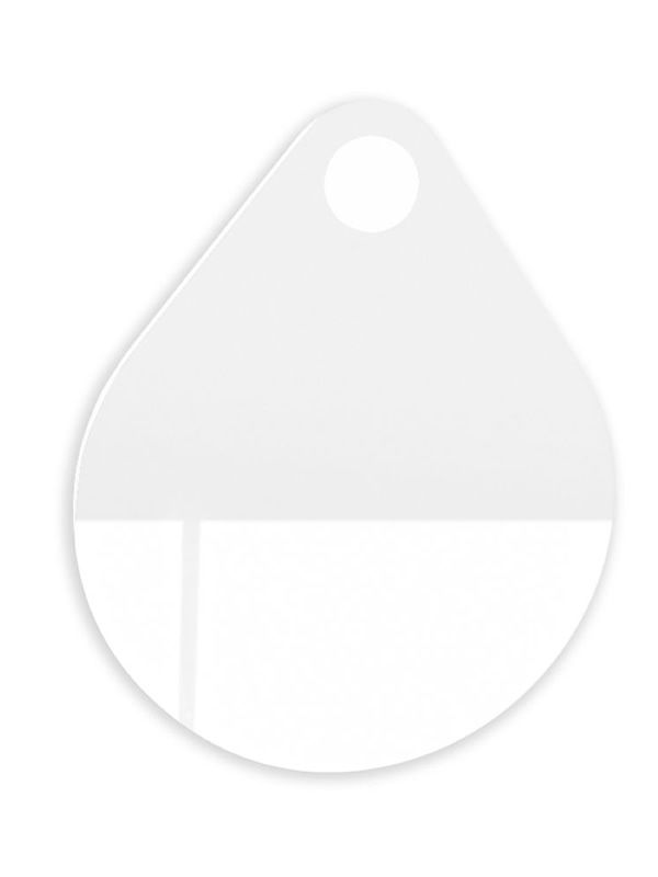 Mirror with drop-shape (size: S)