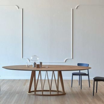 Acco LR - Wooden table, available in different dimensions