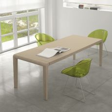 Exteso - Pedrali table in wood, 178 x 90 cm, extendible, PROMO