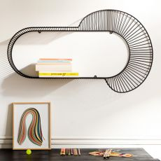 Loop - Petite Friture shelf made of metal, different sizes available