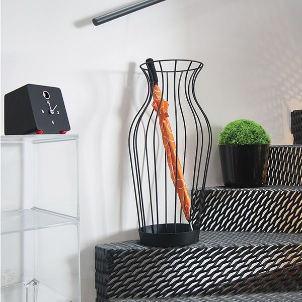 Umbrella stand, black colour