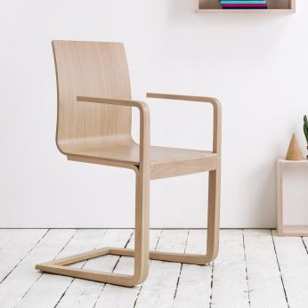 Mojo - Design armchair in oak wood