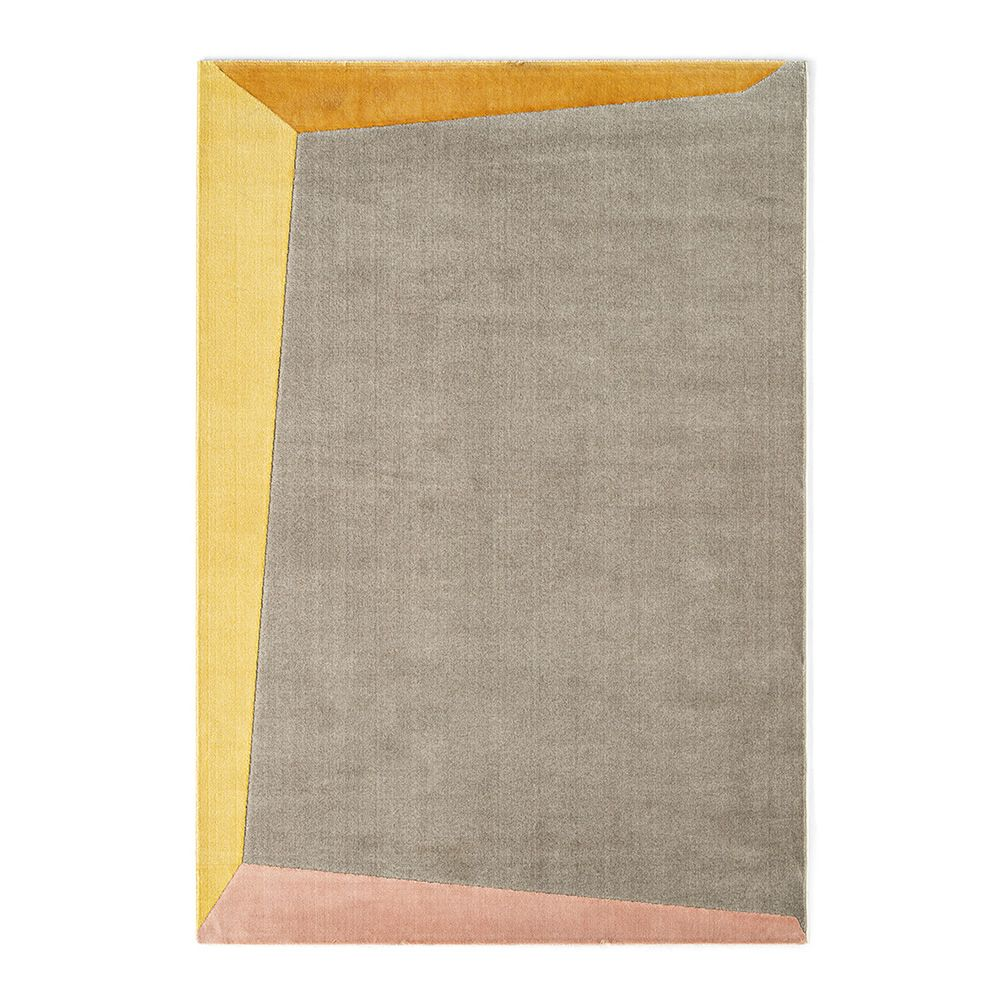 Tapì rug by Connubia, beige, yellow, pink, and orange version