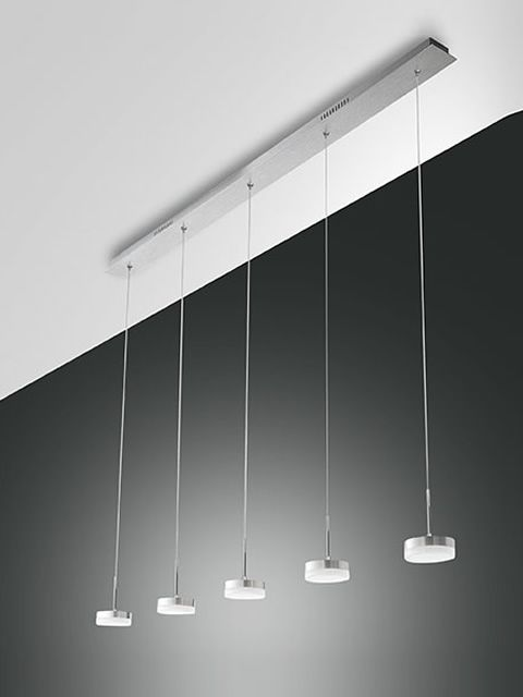 Pendant lamp made of metal and methacrylate (L version)