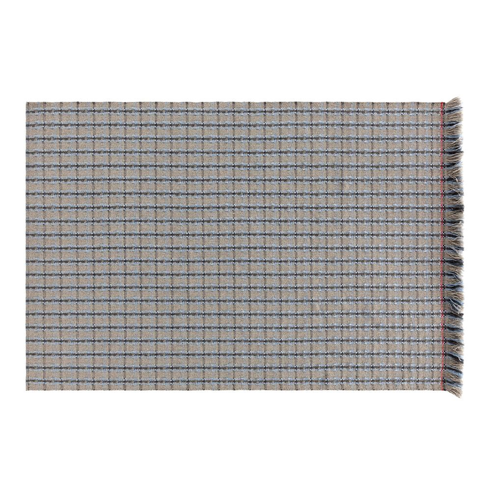 Garden Layers Carpet Size (cm) 90 cm x 200 cm Version Checks blue
