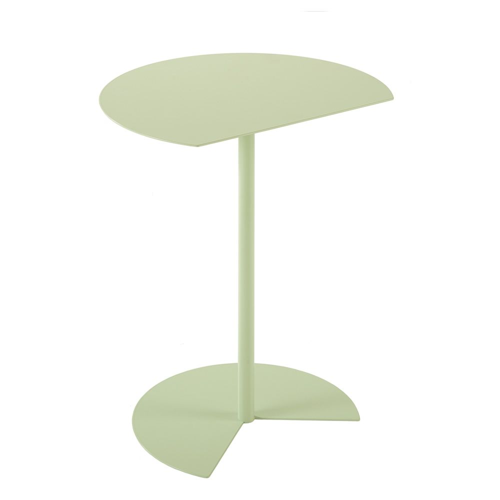 Green round small table