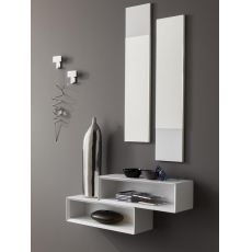 PA604 - Entrance furniture with mirrors and hangers, available in several colours
