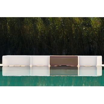 Nova-B - Benches made of Poleasy®, different colours available, also for outdoor
