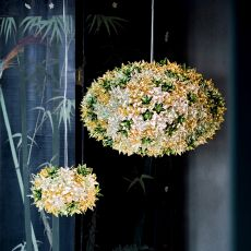 Bloom O - Kartell suspension ceiling lamp, made of technopolymer