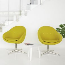 Kokon Club - Variér® ergonomic and swivel armchair, available in several colours