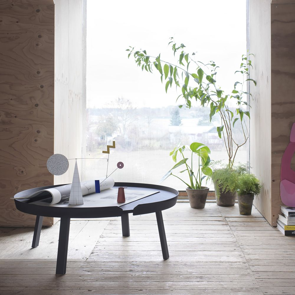 Coffe table in lacquered wood, XL model