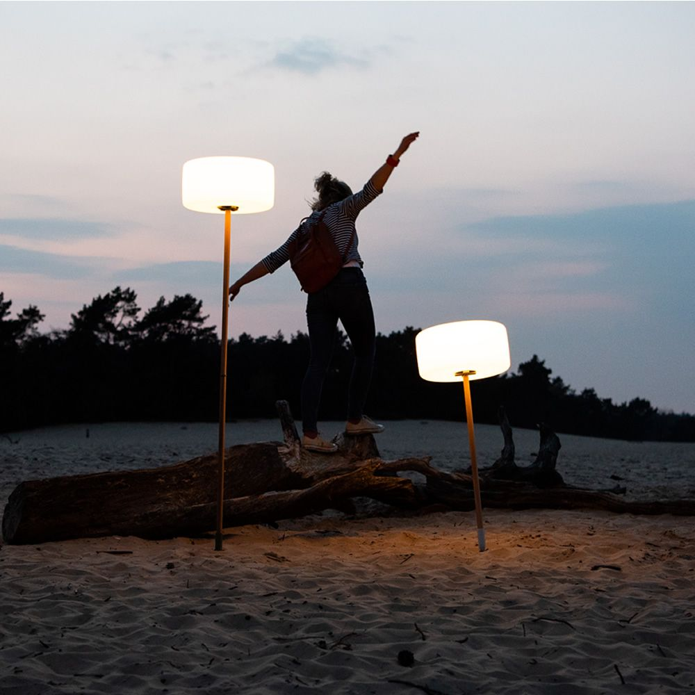 Wireless pendant Fatboy lamp, with LED bulb, in polyethylene, also or outdoors