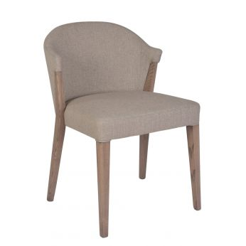 MU200 Shabby - Modern armchair in wood for restaurants, different colours available effect decapè, upholstered with different coatings