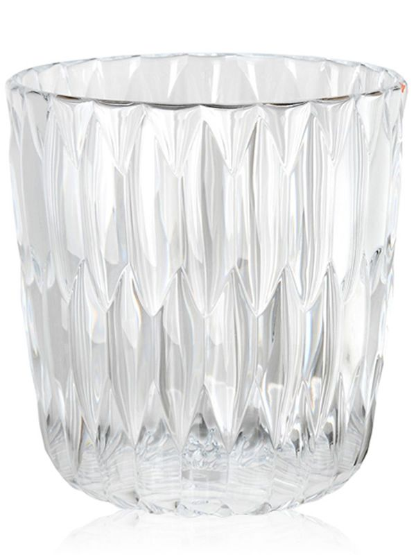 Vase/Behälter Kartell, in Transparent