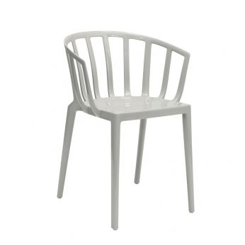 Venice - Kartell design chair, in grey colour