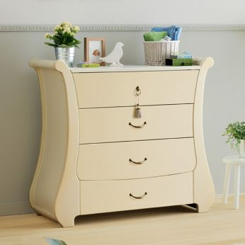 Tulip C - Pali chest of drawers in antique ivory colour