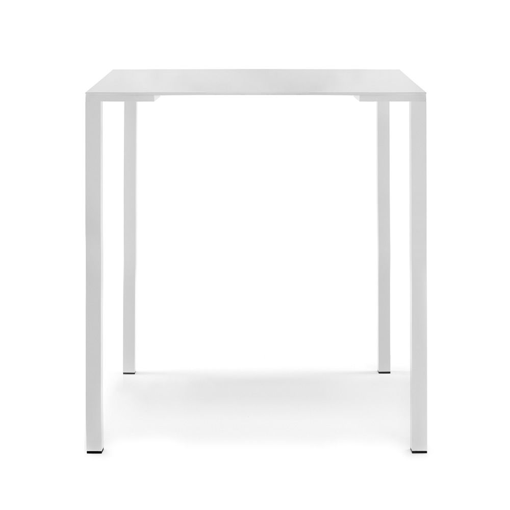 High Table bar, white powder coated