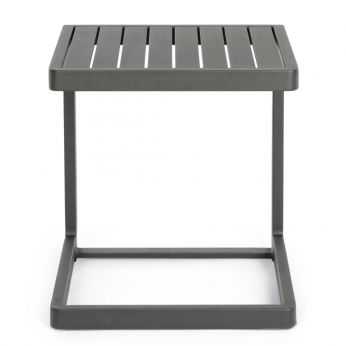 Connie C - Garden side table in painted aluminum