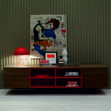 Amsterdam 15.12 - Contemporary sideboard Bontempi Casa, in wood, with doors or drawers, available in various finishes and colours