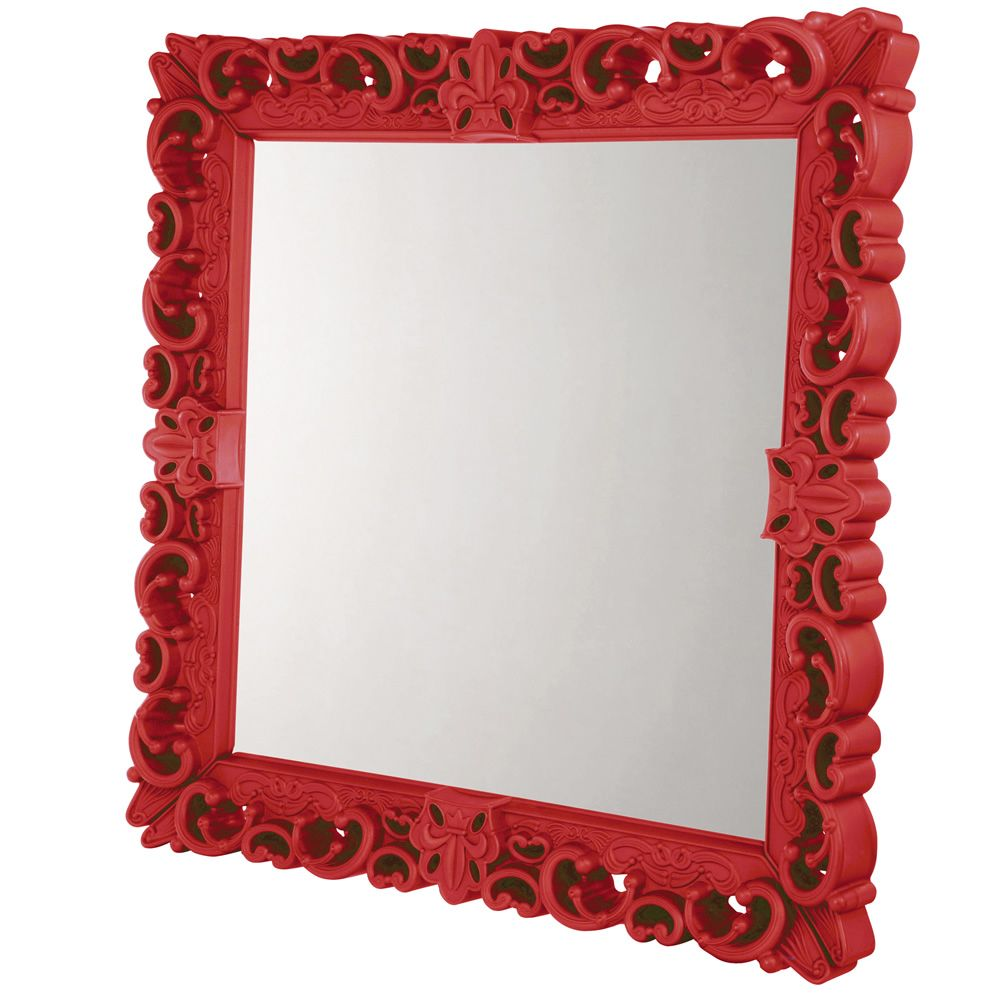 Mirror of Love Size Large Colour Flame red