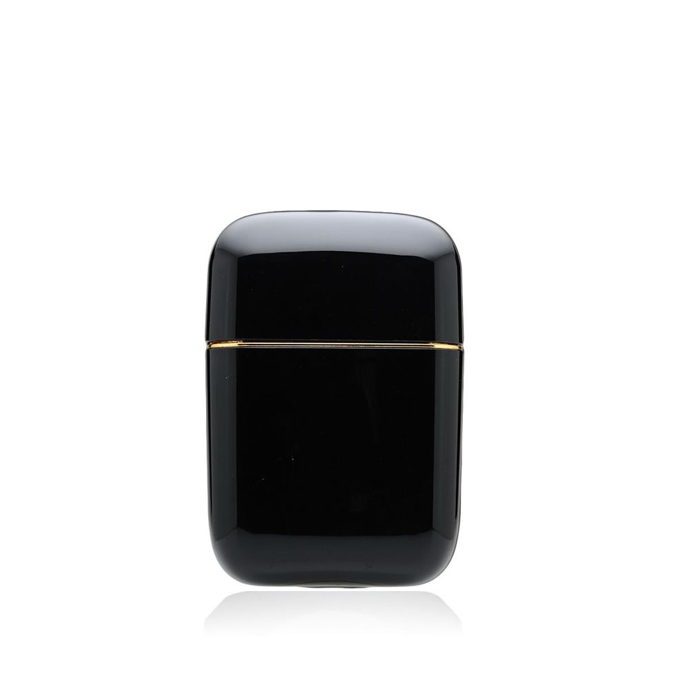 Table candle, black colour