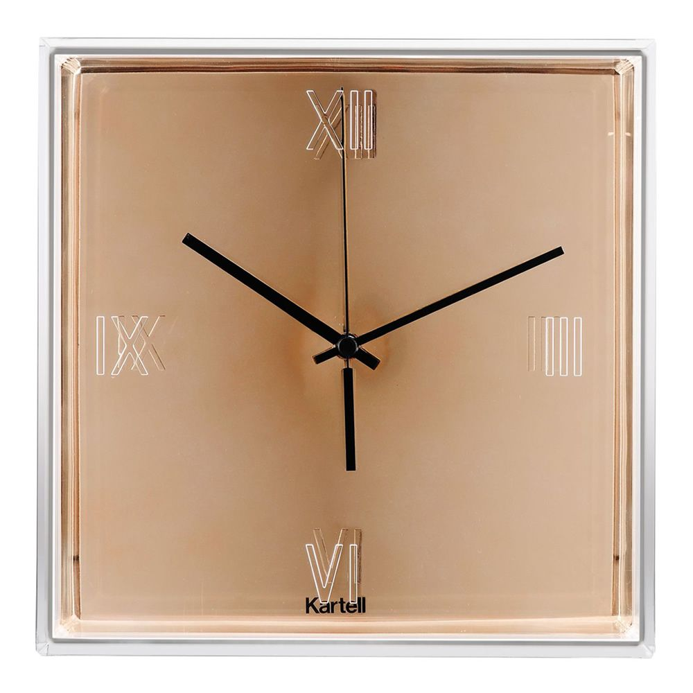Orologio Kartell color rame