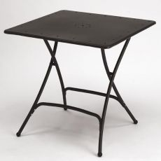 Pieghevole 2736 - Folding metal table for outdoor, 80 x 80 cm