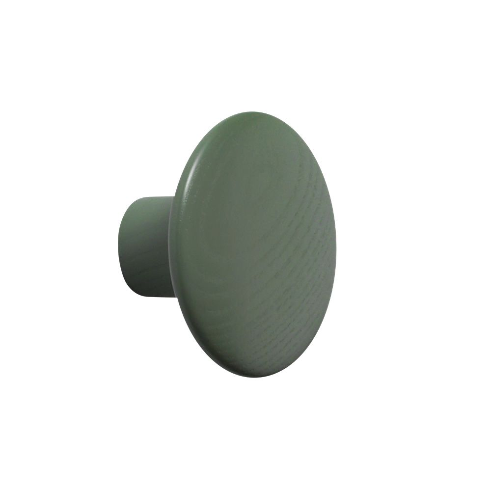 The Dots Ash wood Dusty green colour Size Small. Express Delivery