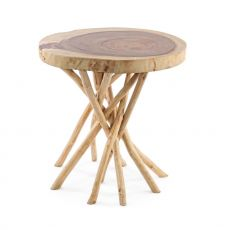 Algeri - Design coffee table in natural wood