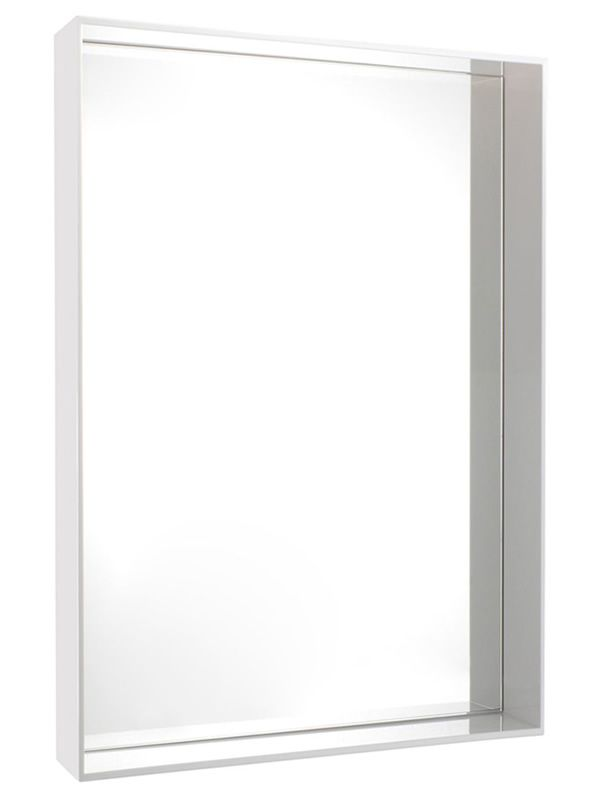 Espejo Kartell color blanco, 50 x 70 cms