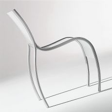 FPE - Design Kartell chair, in aluminum and plastic, stackable, also for garden