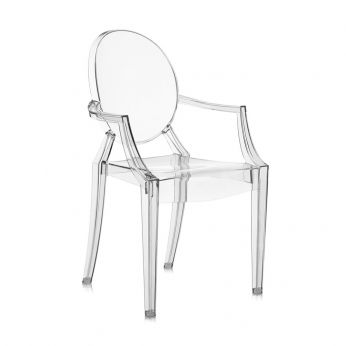Louis Ghost - Louis Ghost chair by Kartell - transparent polycarbonate