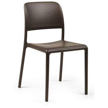 Riva Bistrot - Chair in coffee colour