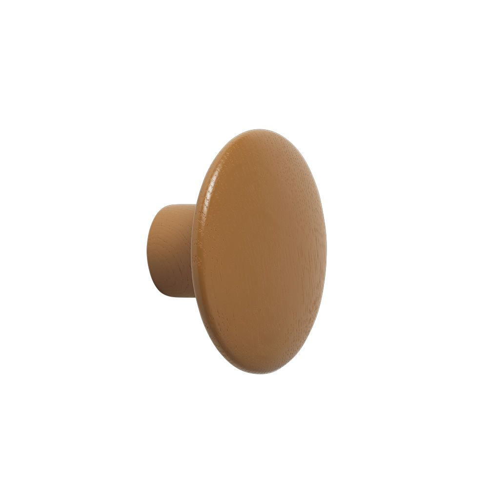 The Dots Ash wood Clay brown colour Size Small. Express Delivery