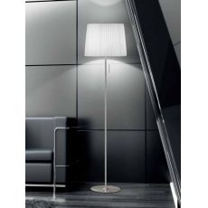 FA2960T - Floor lamp made of metal and fabric