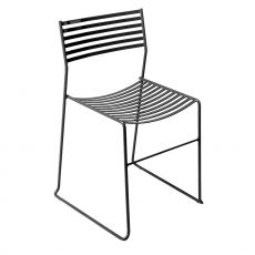 Aero 27 - Emu chair made of metal, stackable, also for garden