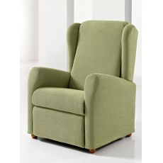 Giulia - Electric Global Relax armchair in fabric, leather or artificial leather