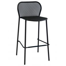 Darwin S - Emu stool in metal, stackable, seat's height 75 cm, several colours, for garden
