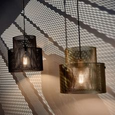 Cyla - Suspension lamp, in metal