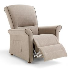 Fly-Relax - Electric Global Relax armchair in fabric, leather or artificial leather, adjustable