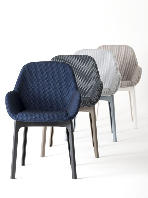 Kartell design small armchairs